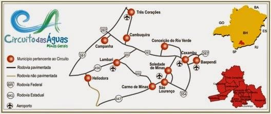 São Lourenço: Circuito das Águas de Minas Gerais