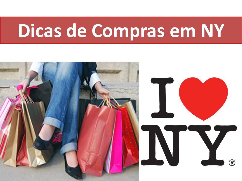 Dicas de compras em Nova York