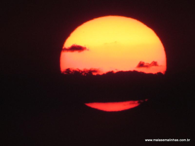 Pôr do sol no Morro do Pai Inácio Chapada Diamantina