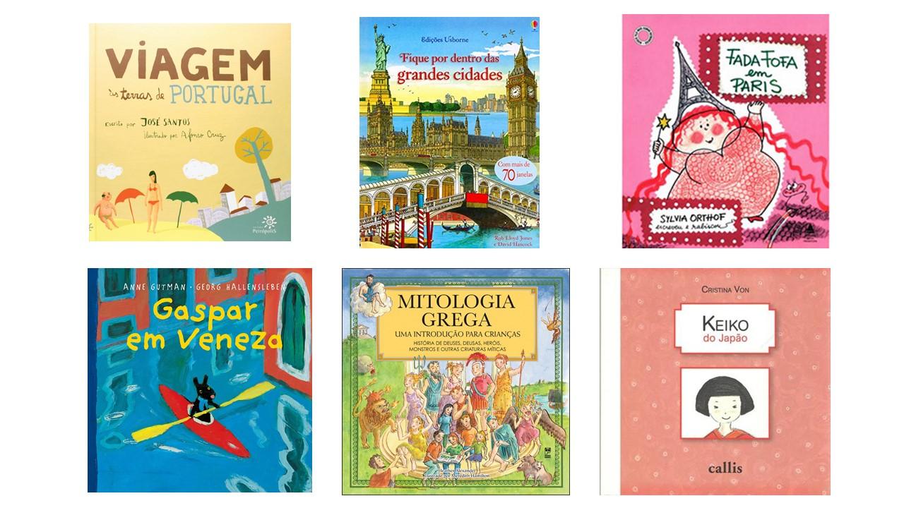 livros de viagem para crianças