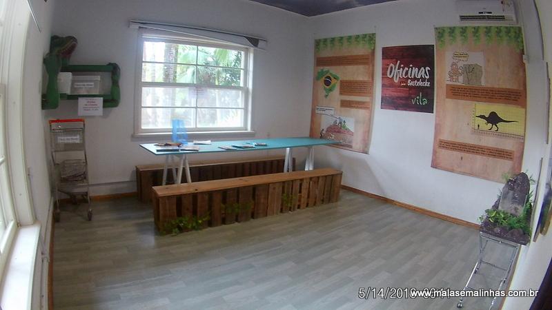 Sala de oficinas de fósseis